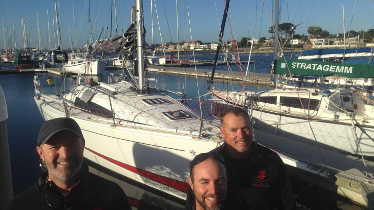 'The Edge' Sun Fast 3200 prepares for the Melbourne to Osaka