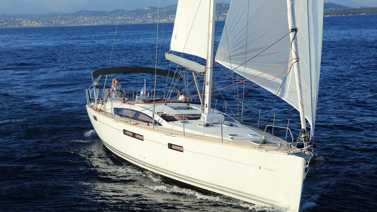 Jeanneau 58 combines style with generous living spaces from stem to stern.