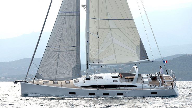 The first of the flagship Jeanneau 64 models is heading to Australia and New Zealand.