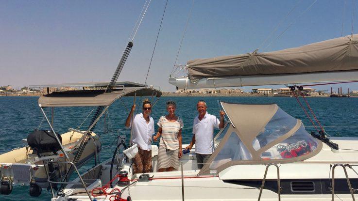 "Jeanneau Sun Odyssey 439 ""Esprit"" through the Suez canal"