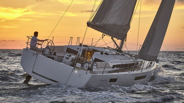 Sun Odyssey 440 wins Most Innovative award 2018 by Cruising World Magazine