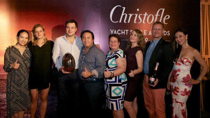 The Sun Odyssey 410 elected Best Sailing Yacht in Asia