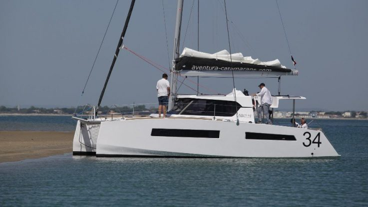 Aventura range of power and sailing catamarans in Australia.