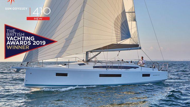 Jeanneau Sun Odyssey 410 wins again