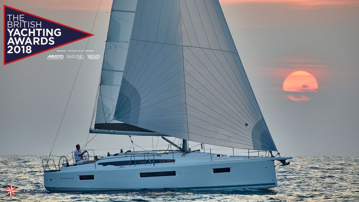The Jeanneau Sun Odyssey 410 Has Been Selected for the British Yachting Awards