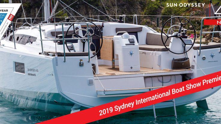 The Sydney International Boat Show!