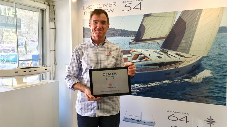 NSW Jeanneau importer named Dealer of the Year - Yachts