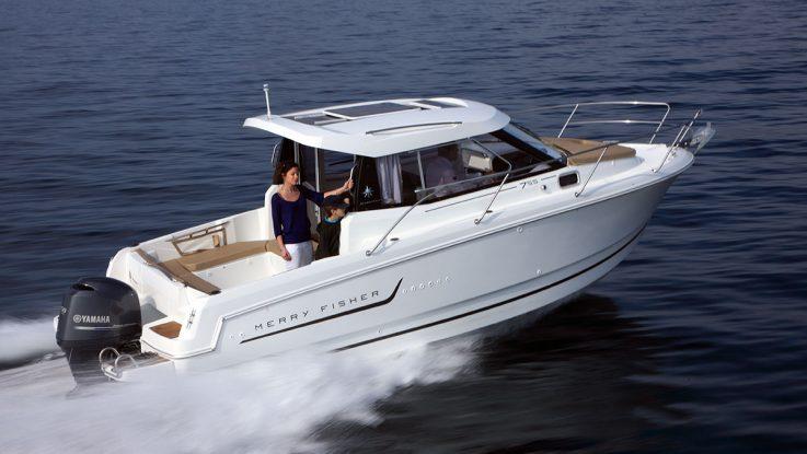 Jeanneau Merry Fisher 755 Marlin on test