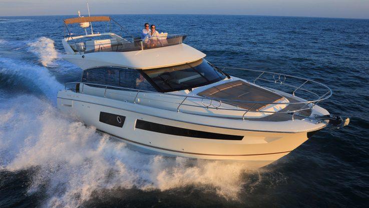 Motor Boats Monthly steps aboard the Prestige 450