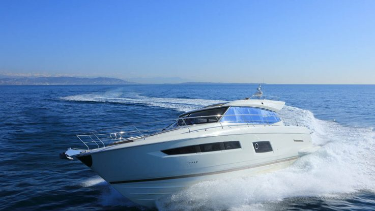Asia Pacific Boating reviews the Prestige 550S