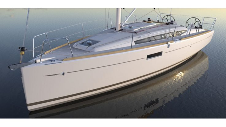 Just announced - the Jeanneau Sun Odyssey 349